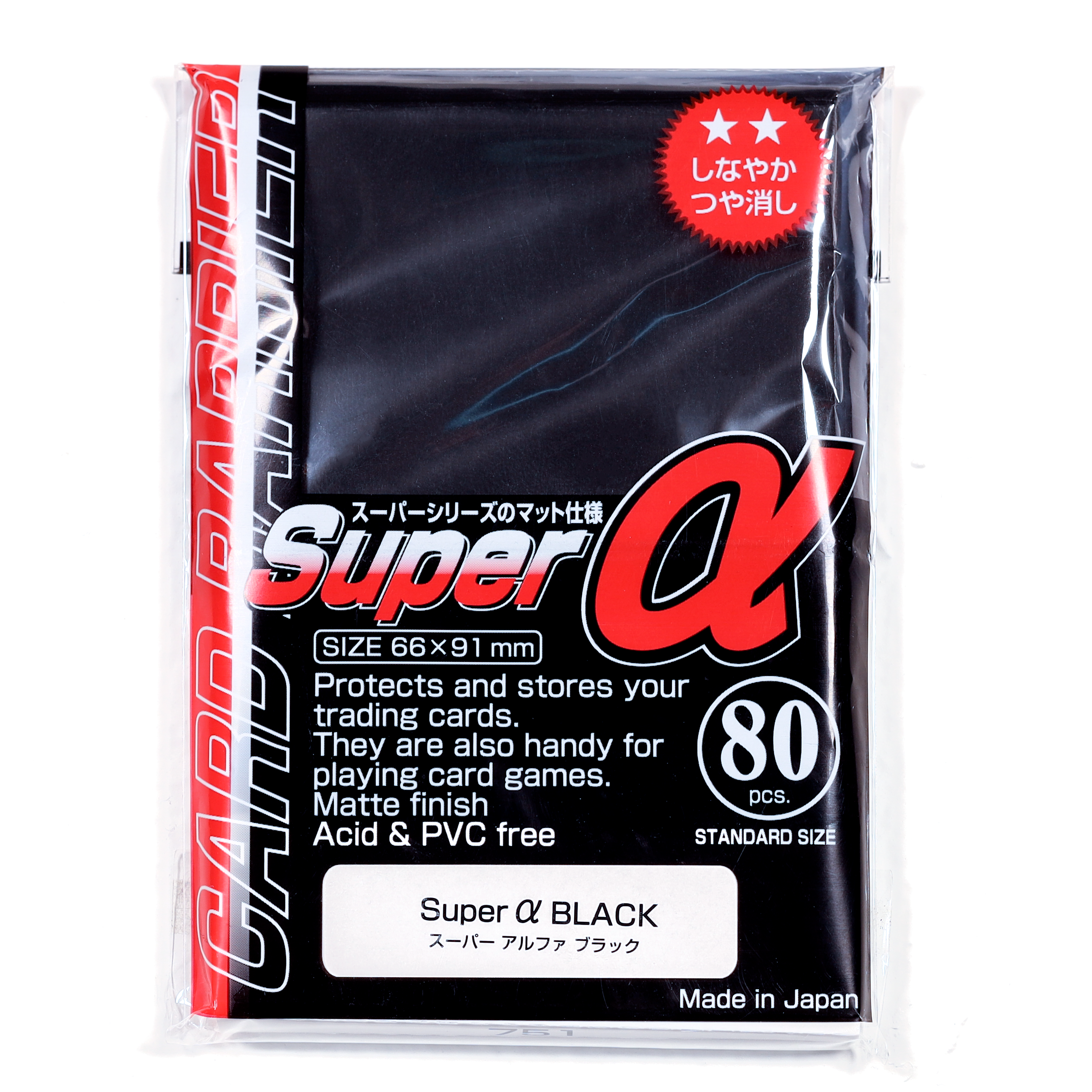 Super Alpha Black - 80ct